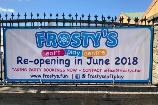 Frosty's Soft Play Centre banner