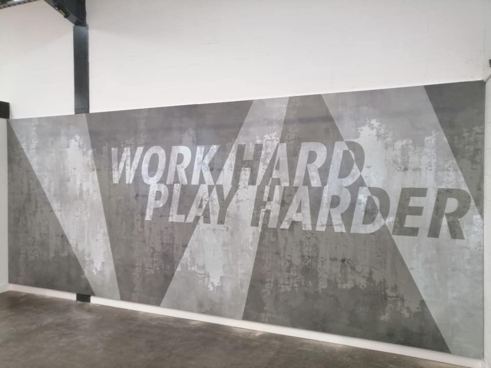 Work Hard Play Harder Graphic