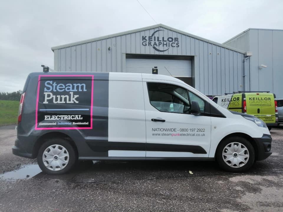 Steam Punk Electrical Van