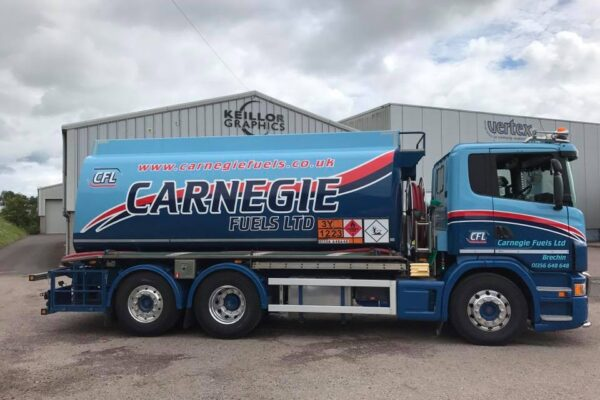 Carnegie Fuels Lorry Design