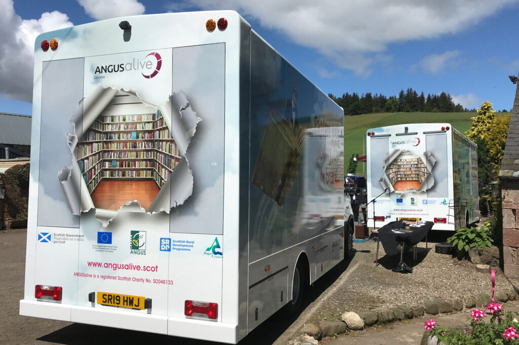 two angus alive vehicles