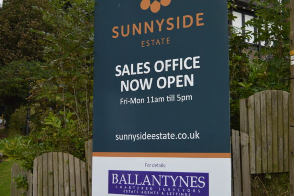 Sunnyside signage work