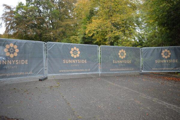 Sunnyside Estate graphic design
