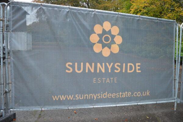 Sunnyside Estate sign recently designed