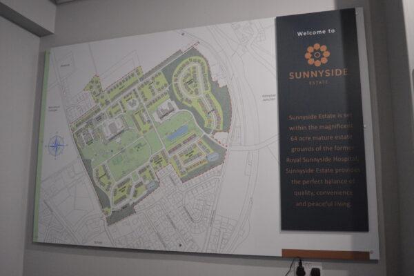 Interior map at Sunnyside Estate