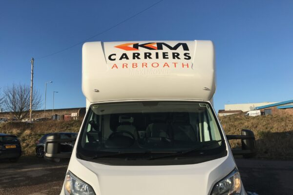 Vehicle livery for KM Carriers