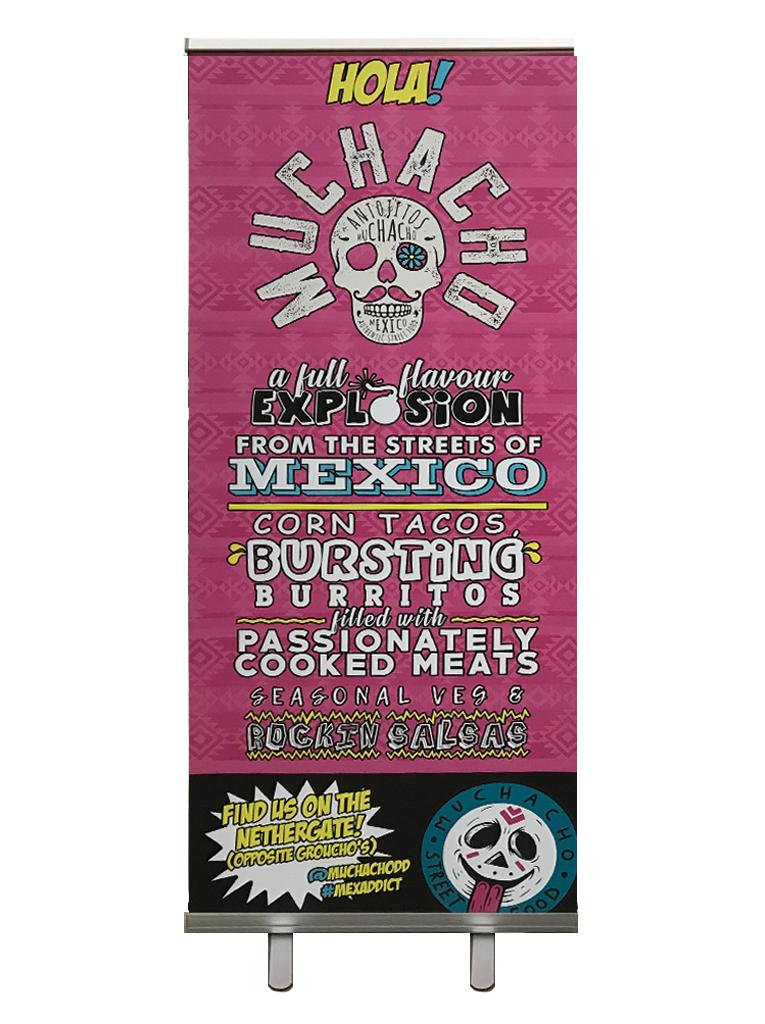Mexican exhibition board