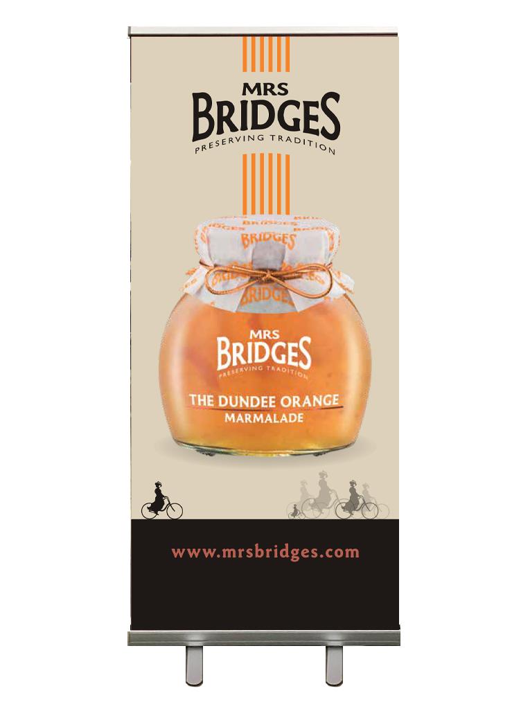 Dundee or orange board for Mrs Bridges