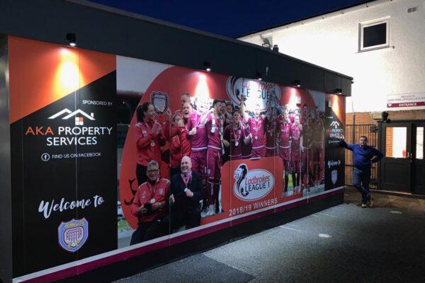 Arbroath FC champions board