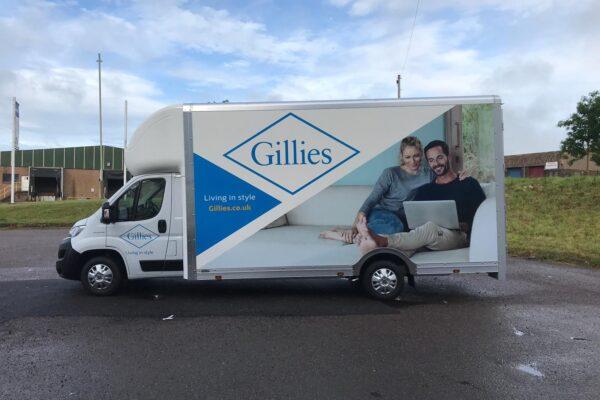 Gillies van livery