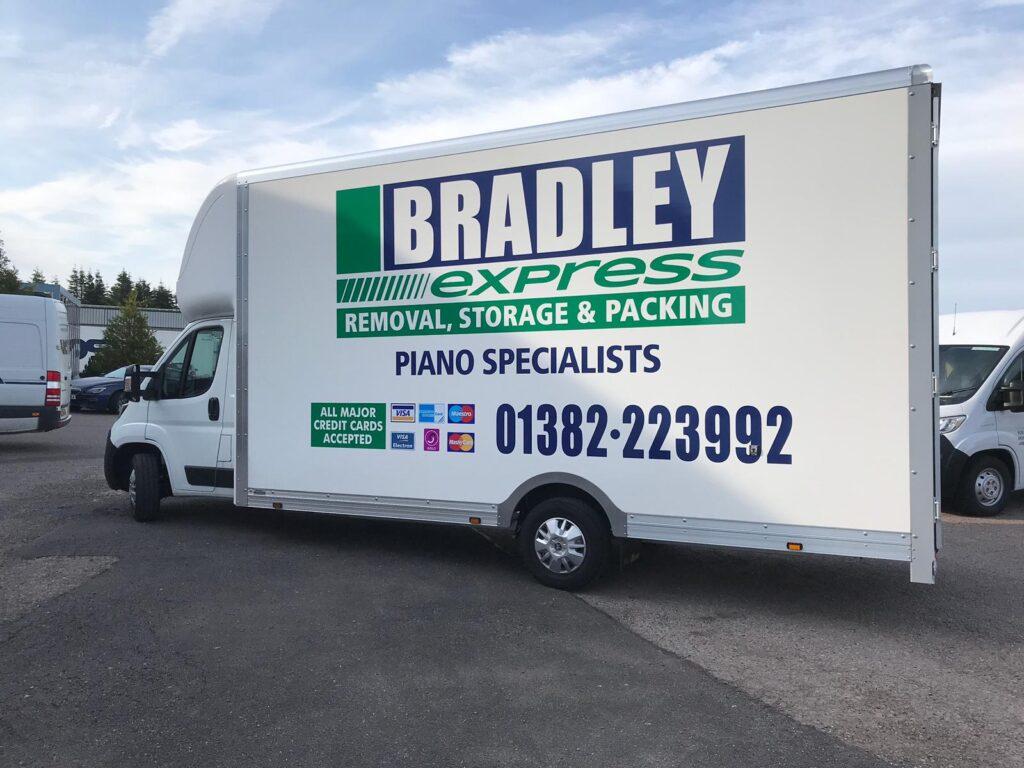 Bradley Express van livery
