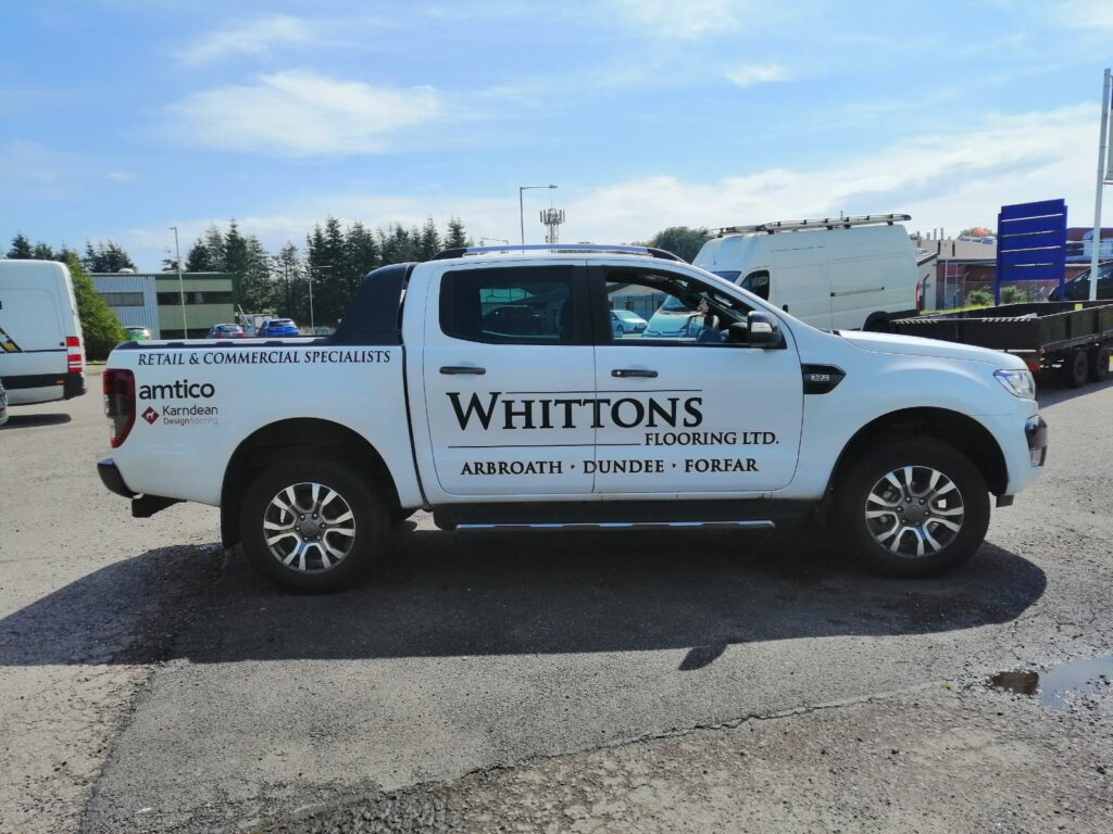 side of whittons livery