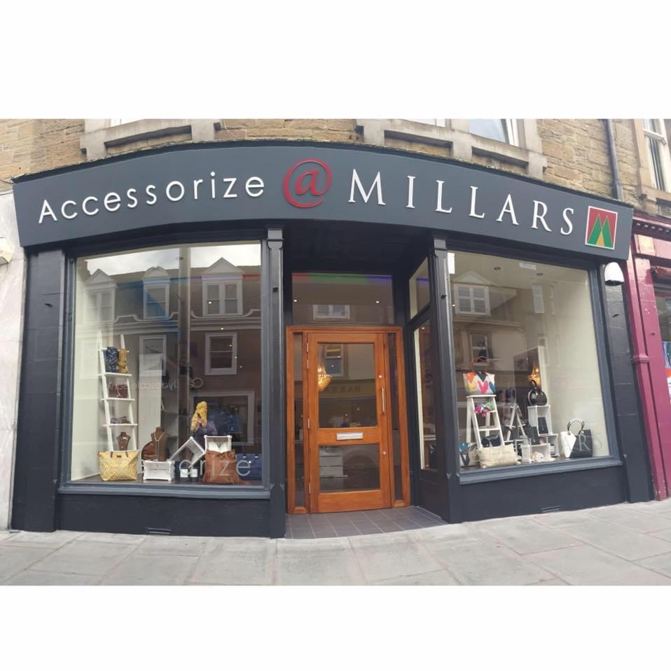 Full view of Accessorize at Millars fascia