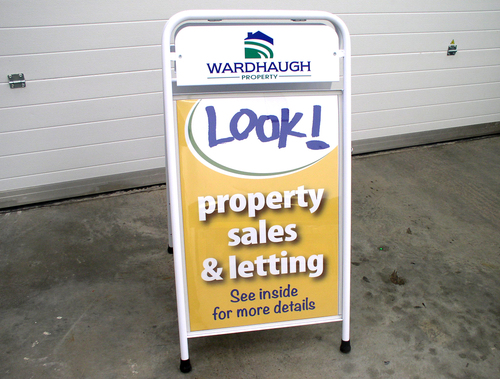 pavement signs for wardhaugh