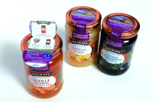Jar branding for Mackays