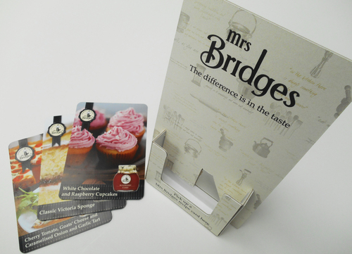 Mrs bridges branding work