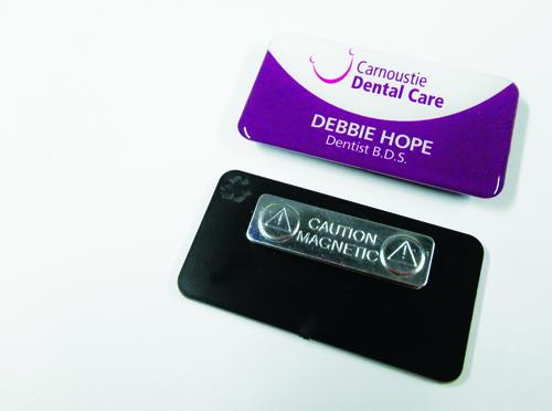 Badges for Carnoustie Dental Care
