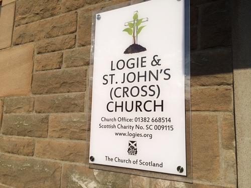 signs at st johns church
