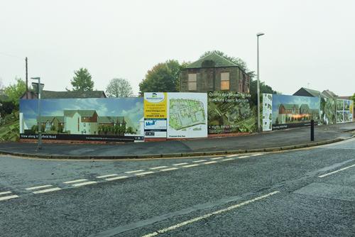 corner signage on viewfield road