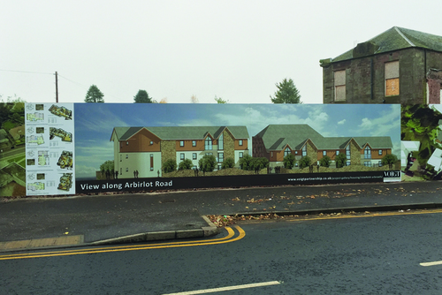 signs on viewfield road