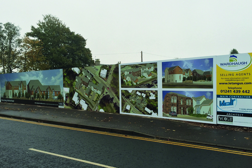 viewfield road signage work