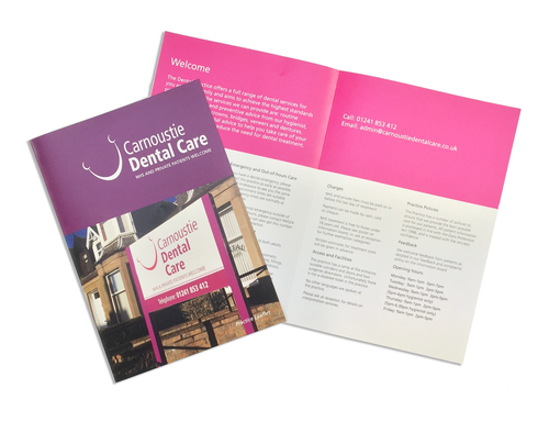 carnoustie dental care leaflets