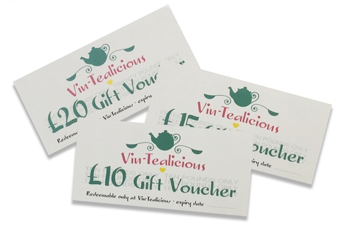 vin-tealicious gift vouchers