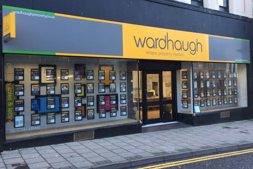 wardhaugh shop fascia