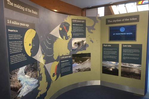 Montrose basin recent exhibition design