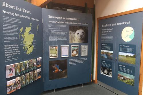 Recent exhibition work at Montrose basin
