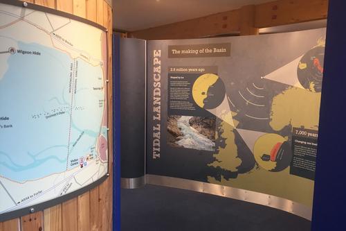 Tidal landscape exhibition work
