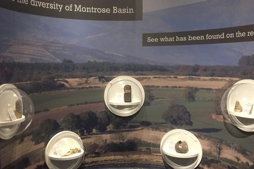 Montrose basin exhibition work