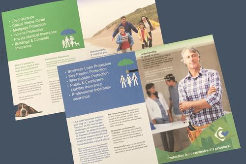 leaflet design examples