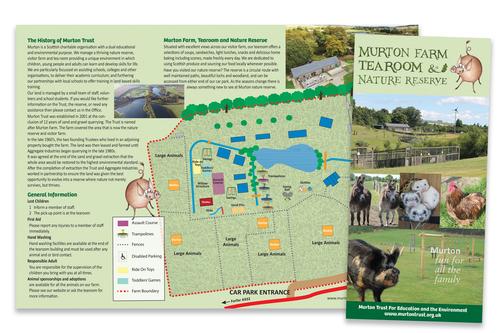 murton farm leaflet work