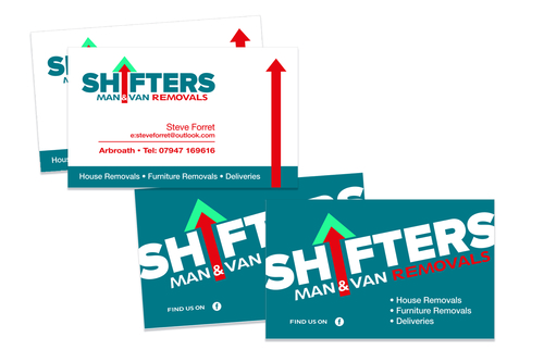 shifters business cards