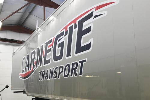 carnegie lorry close up design