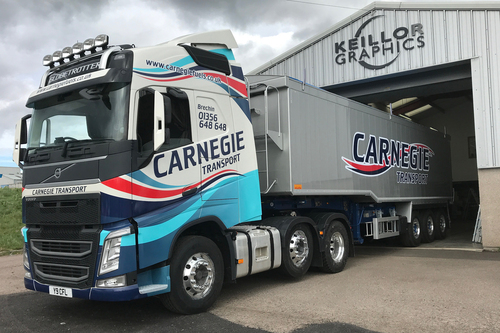 recent livery for carnegie