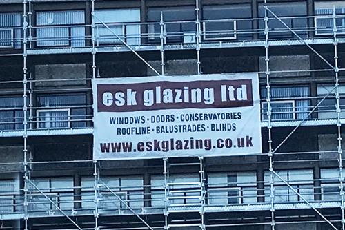 signage for esk glazing