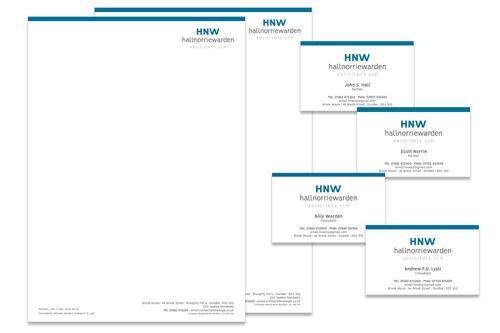 HNW paper header work
