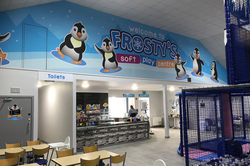 frostys play centre design work
