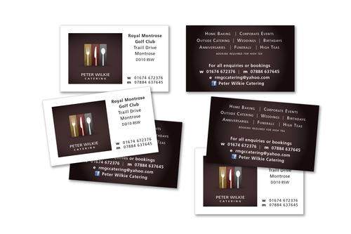 Peter Wilkie business cards