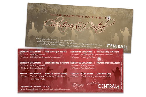 Invitations for Central baptist church