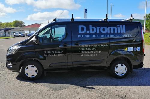 Van livery for D.Bramill