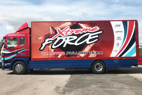 livery work for xtreme force