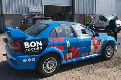 Vehicle livery fro Bon Accord