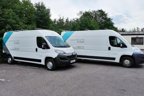 recent livery work on vans