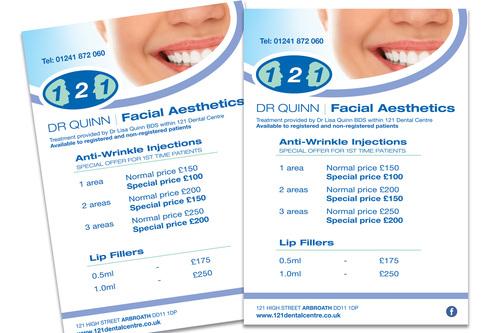 Leaflets for Dr Quinn