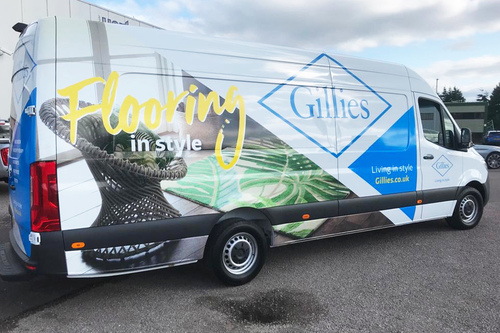 gillies in for livery work