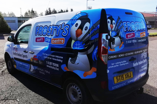 livery van for frostys