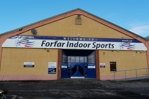 fascia work for forfar indoor sports
